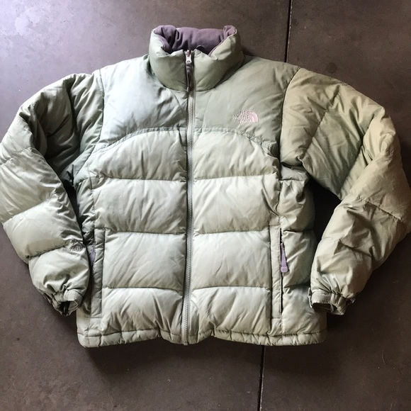 103f97893 Women's The North Face Green Nuptse Down Jacket S